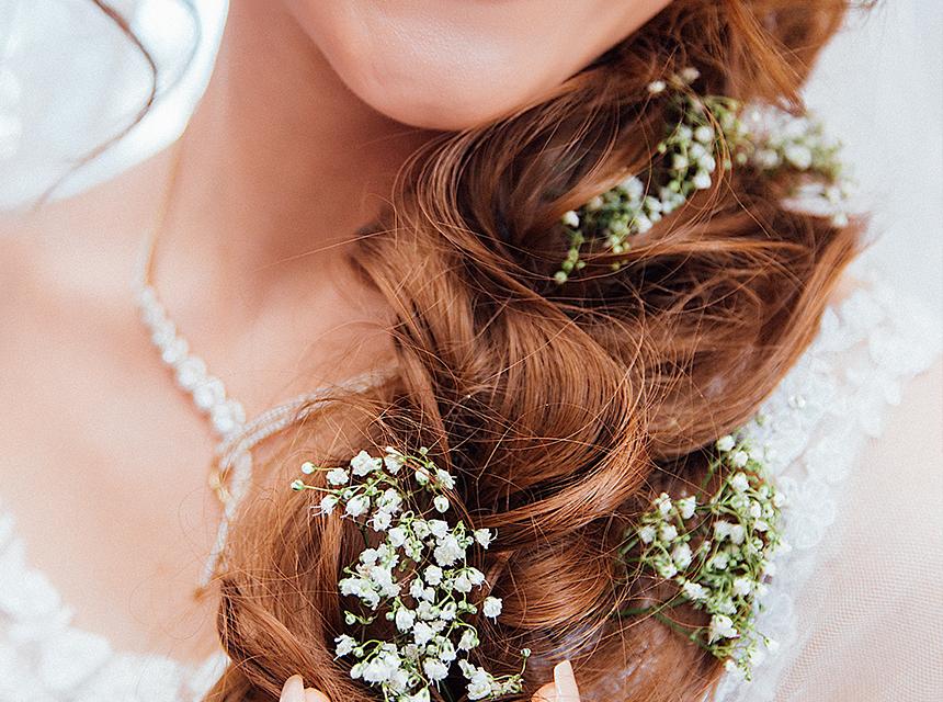 Coiffure pour mariage, coupe de cheveux pour mariage
